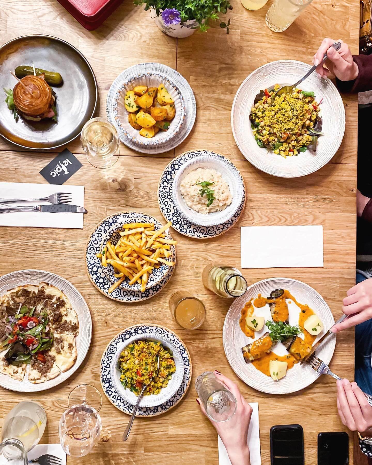 Speisekarte Le Pic Brasserie - Französisch essen in Wien